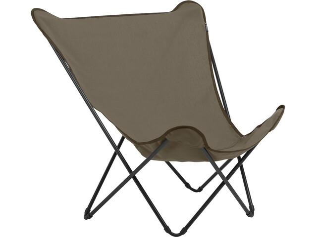 Lafuma Mobilier Pop Up XL - Siège camping - Airlon + Uni marron/noir